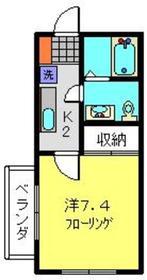 ラトレッタ2階Fの間取り画像