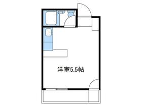 本厚木駅 バス12分「中村入口」徒歩6分1階Fの間取り画像