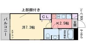 スタンドリバー飯倉4階Fの間取り画像