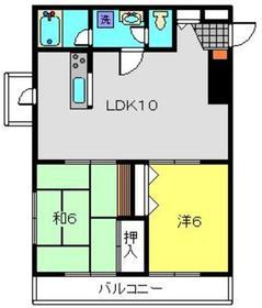ルグラン3階Fの間取り画像