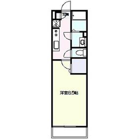 リブリ・楓1階Fの間取り画像