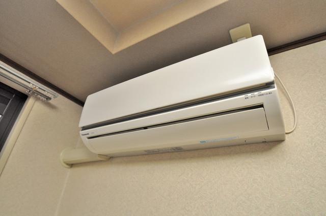 CTビュー永和 エアコンが最初からついているなんて、本当に助かりますね。