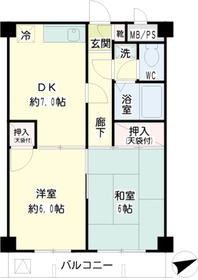 元住吉駅 バス10分「南加瀬交番前」徒歩6分1階Fの間取り画像