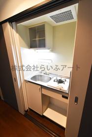 ピュアドーム南山荘通り : 4階キッチン