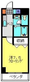 日吉A-Ⅲ2階Fの間取り画像