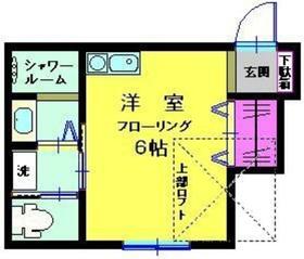 ランドシティー新横浜2階Fの間取り画像