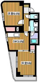 中板橋駅 徒歩1分3階Fの間取り画像