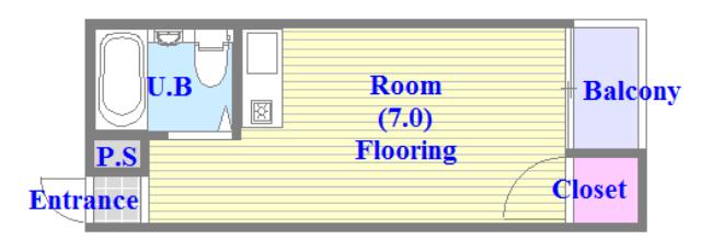 シャルマン89 シンプルな住み心地を実感できる素敵な間取りになってます。