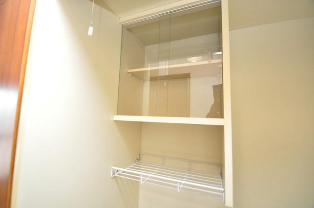 コボックス コンパクトながらミニ冷蔵庫も完備。機能的です。