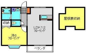 フローラ2階Fの間取り画像