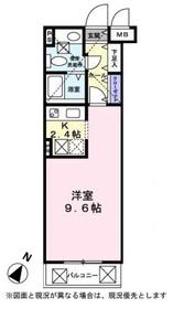 鶴ヶ峰駅 徒歩19分2階Fの間取り画像