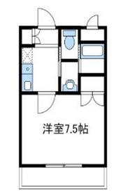 フラットYM22階Fの間取り画像