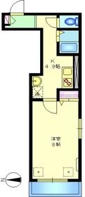 パークメゾン東蒲田2階Fの間取り画像