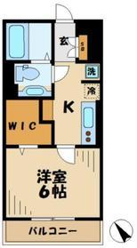 サニーコート3階Fの間取り画像