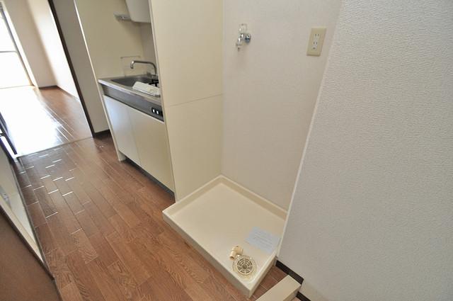 グランドゥルイ 室内に洗濯機置き場があれば雨の日でも安心ですね。