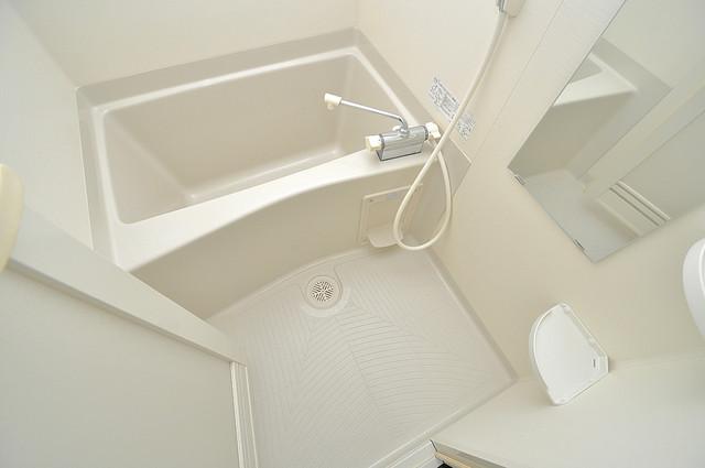 エスティームⅡ番館 ゆったりサイズのお風呂は落ちつける癒しの空間です。