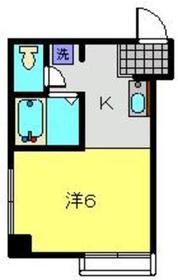 野本ビル3階Fの間取り画像