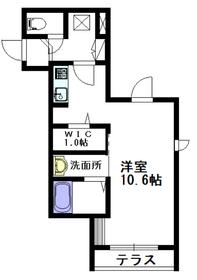 confort MARUZEN1階Fの間取り画像