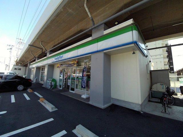 ヴィラアルタイル ファミリーマート八戸ノ里駅東店
