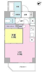 ルジェンテ・バリュ横濱反町5階Fの間取り画像