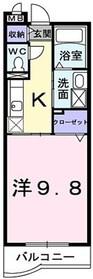 ボヤージュ・アン・バトー1階Fの間取り画像