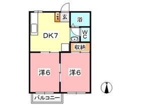 リッチネス図子山 B1階Fの間取り画像