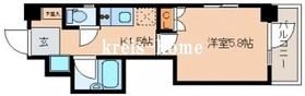 レジディア文京湯島II7階Fの間取り画像