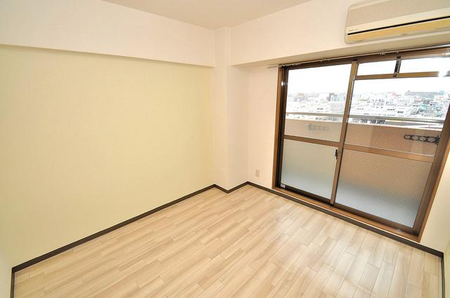 イマザキマンションエヌワン 朝には心地よい光が差し込む、このお部屋でお休みください。