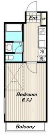 サン セレーノ2階Fの間取り画像