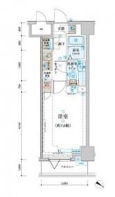 日本大通り駅 徒歩5分8階Fの間取り画像