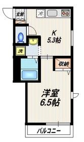プライムステージ2階Fの間取り画像