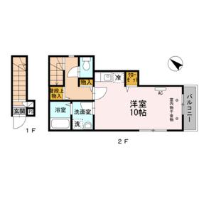 オット・ラルゴ2階Fの間取り画像