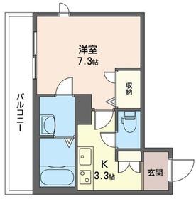 ネオフラッツワン 206号室