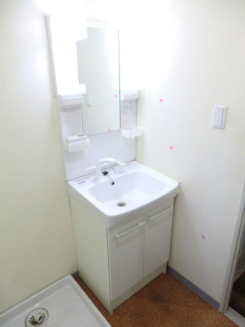 ディアフラッツ洗面所