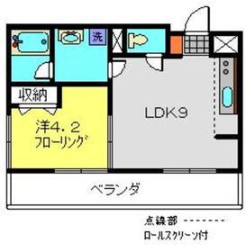 ビューサイト横浜8階Fの間取り画像