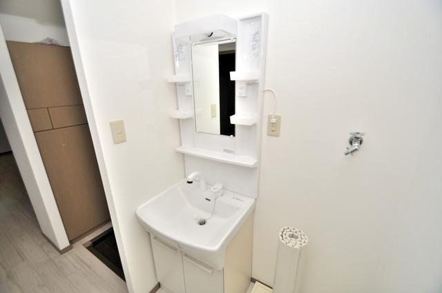 サンビレッジ・ラポール 小さいですが洗面台ありますよ