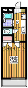 成増駅 徒歩10分1階Fの間取り画像