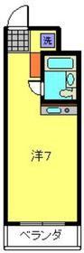 武蔵小杉駅 徒歩3分3階Fの間取り画像