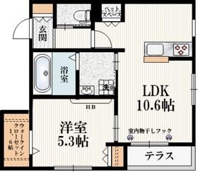 ドーマ吉祥寺1階Fの間取り画像