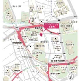 パークコート・ジオ永田町案内図