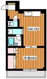Heim佑2階Fの間取り画像