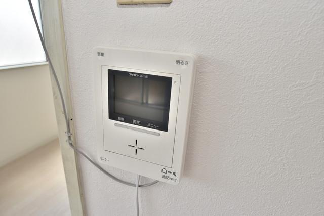 ロイヤルハイツ深江南 TVモニターホンは必須ですね。扉は誰か確認してから開けて下さいね