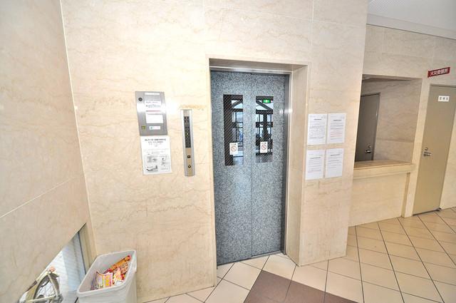 カーサノベンタ 嬉しい事にエレベーターがあります。重い荷物を持っていても安心