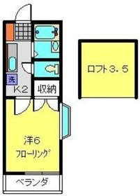 横浜駅 バス20分「羽沢南停」徒歩3分1階Fの間取り画像
