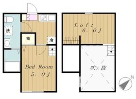 Cozy House相模原 コージーハウスサガミハラ1階Fの間取り画像