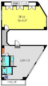 戸部駅 徒歩9分2階Fの間取り画像