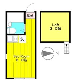 生田駅 徒歩6分1階Fの間取り画像