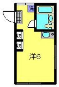 パーセル2階Fの間取り画像