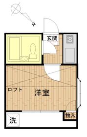 エスポアール代田橋1階Fの間取り画像
