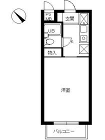 スカイコート本郷東大前4階Fの間取り画像